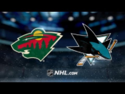 Minnesota Wild vs. San Jose Sharks at Xcel Energy Center