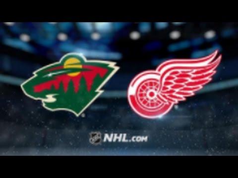 Minnesota Wild vs. Detroit Red Wings at Xcel Energy Center