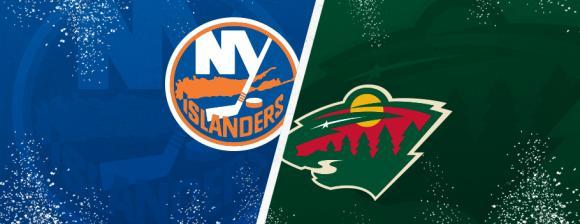 Minnesota Wild vs. New York Islanders at Xcel Energy Center