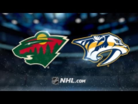 Minnesota Wild vs. Nashville Predators at Xcel Energy Center
