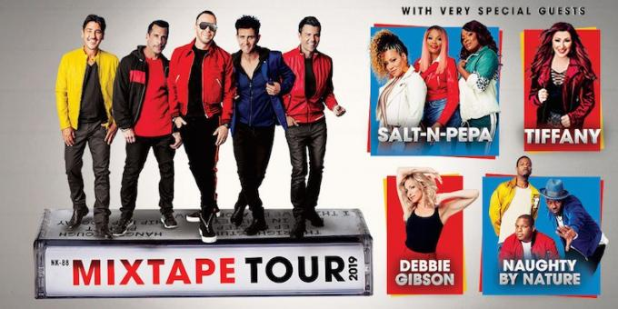New Kids On The Block, Salt N Pepa & Naughty by Nature at Xcel Energy Center