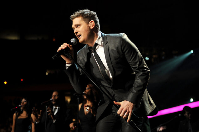 Michael Buble at Xcel Energy Center