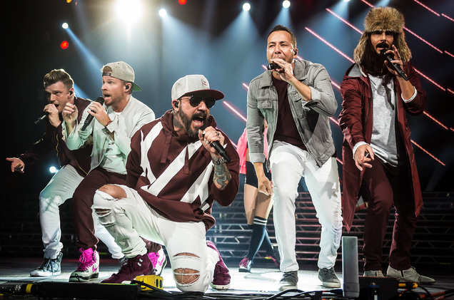 Backstreet Boys at Xcel Energy Center