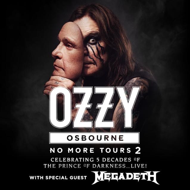 Ozzy Osbourne & Megadeth at Xcel Energy Center