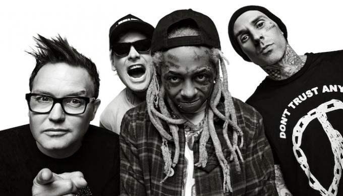Blink 182 & Lil Wayne at Xcel Energy Center