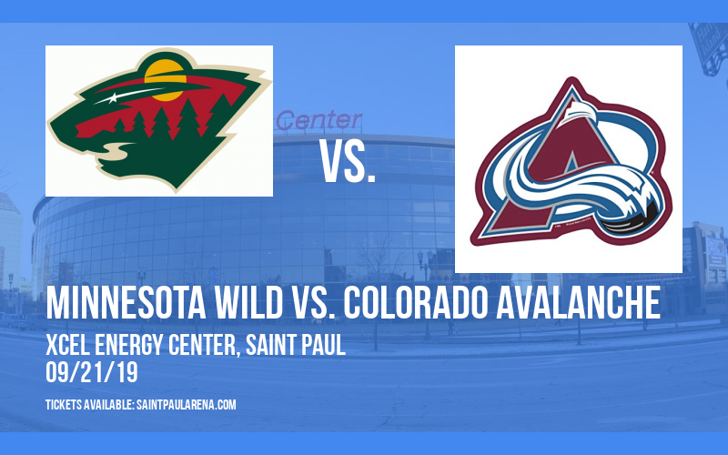 NHL Preseason: Minnesota Wild vs. Colorado Avalanche at Xcel Energy Center