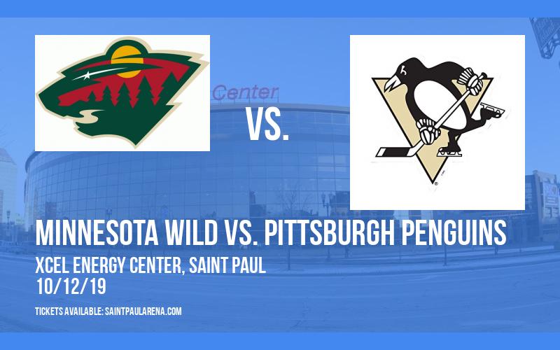 Minnesota Wild vs. Pittsburgh Penguins at Xcel Energy Center