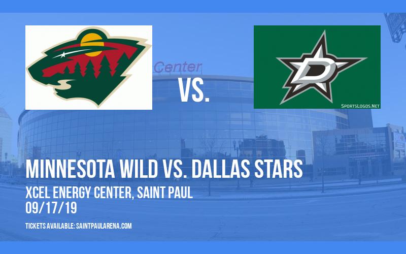 NHL Preseason: Minnesota Wild vs. Dallas Stars at Xcel Energy Center