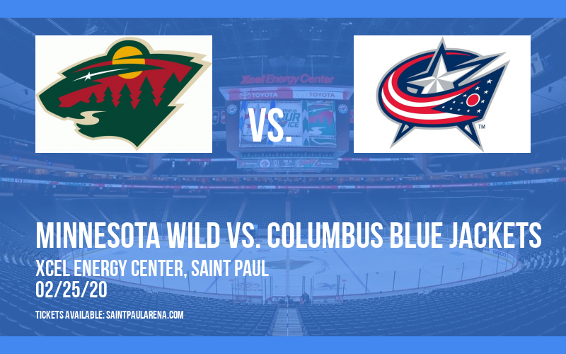 Minnesota Wild vs. Columbus Blue Jackets at Xcel Energy Center