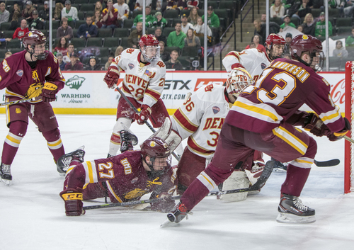 NCHC Frozen Faceoff - Friday at Xcel Energy Center