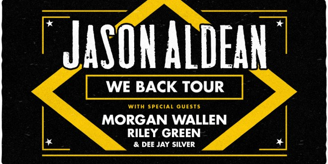 Jason Aldean, Morgan Wallen & Riley Green at Xcel Energy Center