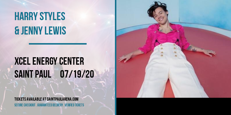 Harry Styles & Jenny Lewis at Xcel Energy Center