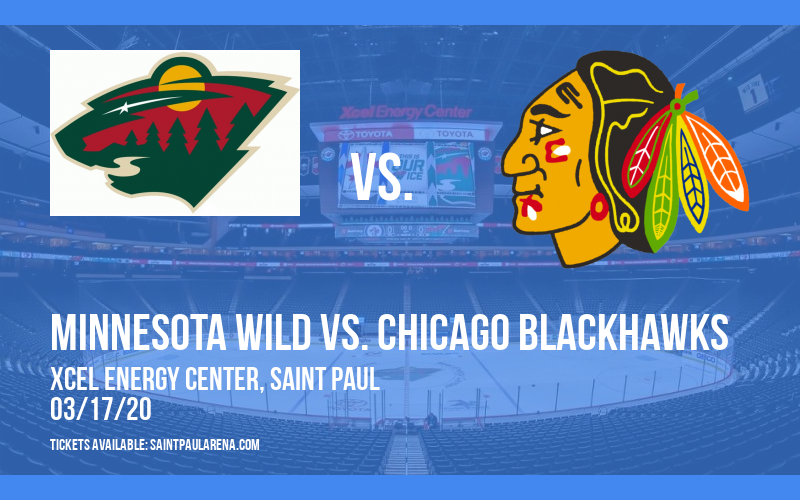 Minnesota Wild vs. Chicago Blackhawks [CANCELLED] at Xcel Energy Center