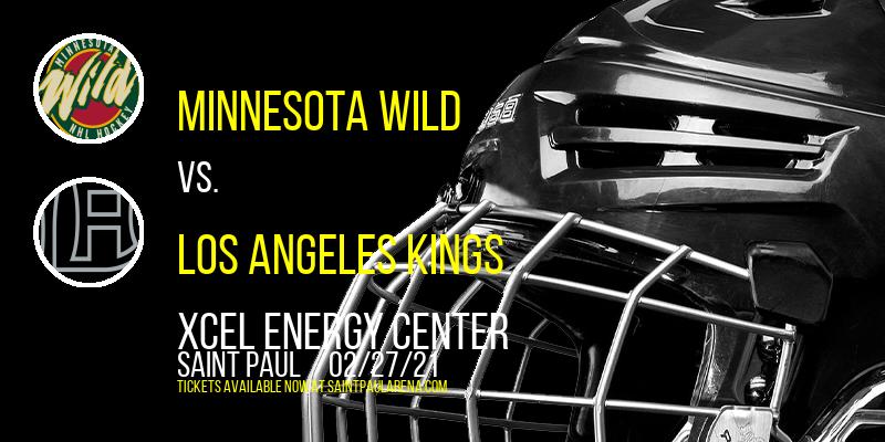Minnesota Wild vs. Los Angeles Kings at Xcel Energy Center