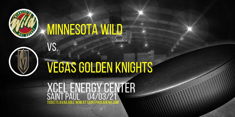 Minnesota Wild vs. Vegas Golden Knights [CANCELLED] at Xcel Energy Center