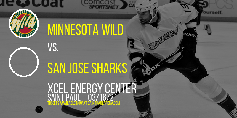 Minnesota Wild vs. San Jose Sharks [CANCELLED] at Xcel Energy Center