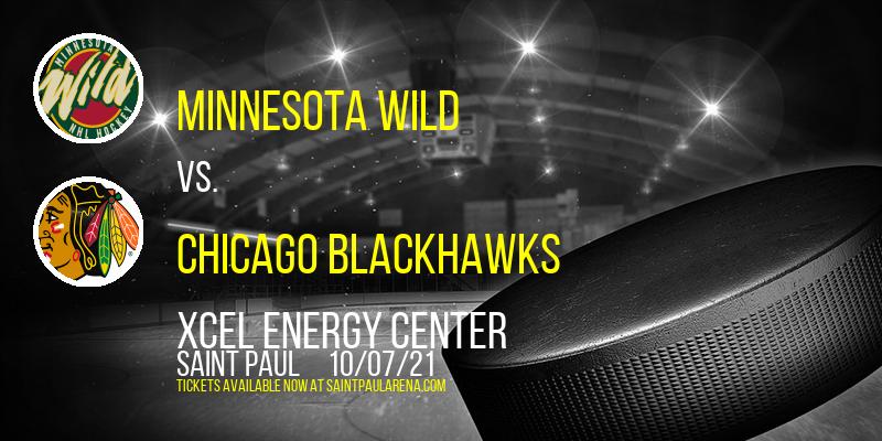 Nhl Preseason: Minnesota Wild Vs. Chicago Blackhawks at Xcel Energy Center