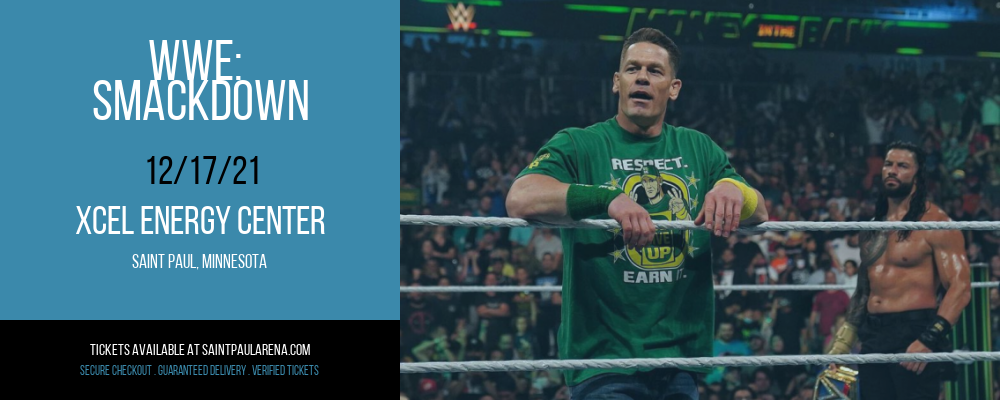 WWE: Smackdown at Xcel Energy Center