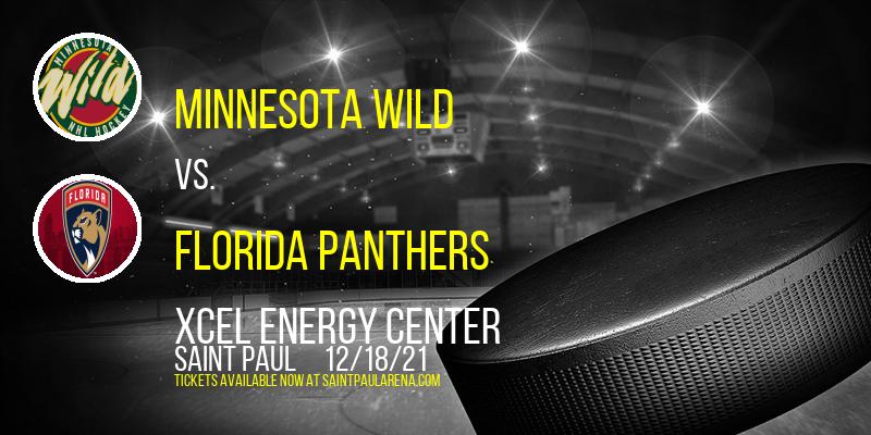 Minnesota Wild vs. Florida Panthers at Xcel Energy Center