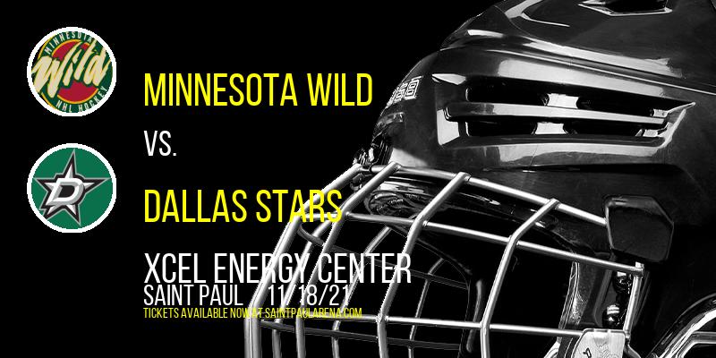 Minnesota Wild vs. Dallas Stars at Xcel Energy Center