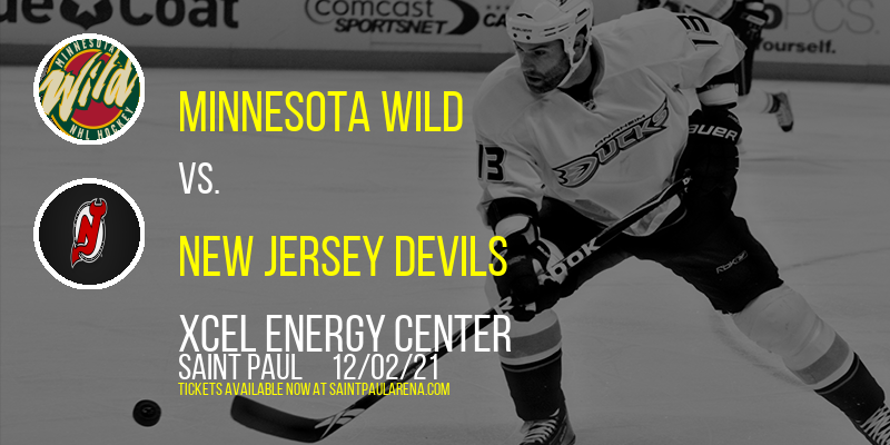 Minnesota Wild vs. New Jersey Devils at Xcel Energy Center