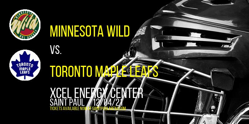 Minnesota Wild vs. Toronto Maple Leafs at Xcel Energy Center